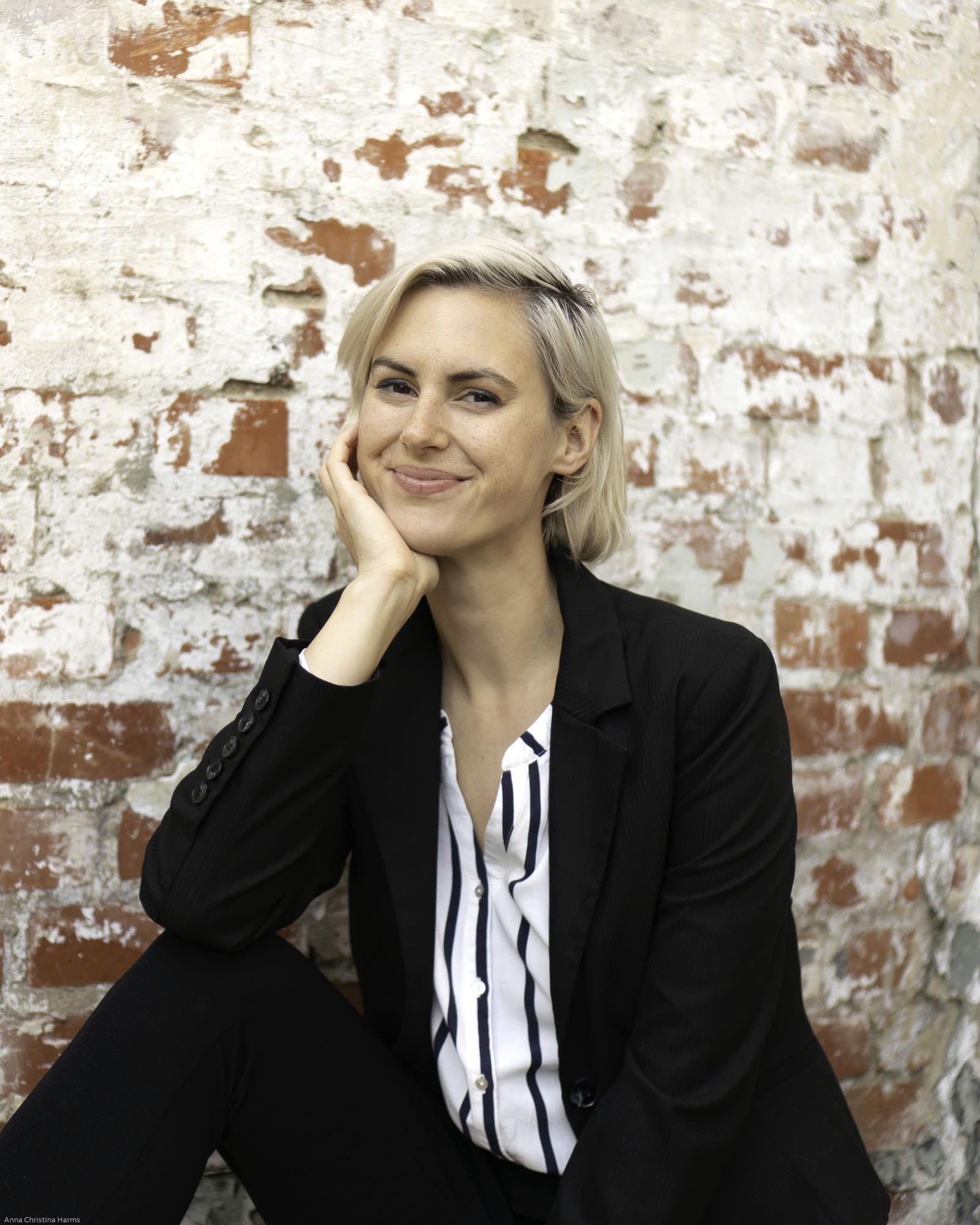 Portraitbild Anna Christina Harms aka goodvibesninja