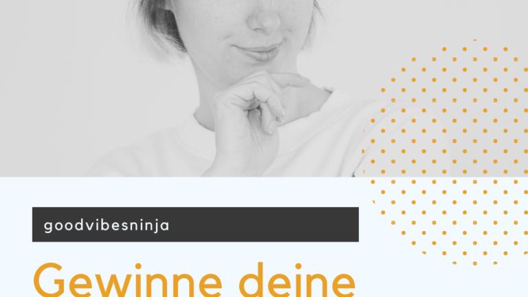 Coverbild zur ersten Podcastfolge von goodvibesninja zum Thema Kundengewinnung