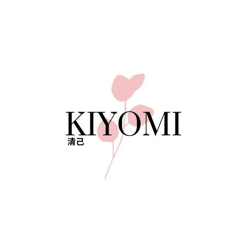 Logo des Online-Festivals KIYOMI, bei dem es um Selbstliebe, Body Positivity, Diversität und Individualität geht.